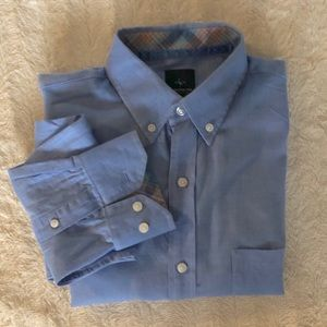 Tailorbyrd long sleeve blue button down